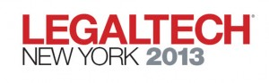 LegalTech 2013 New York
